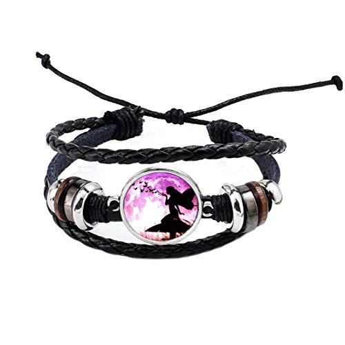Mariposa y Logo brazalete pulsera cabujón hecho a mano pulsera mujeres joyería accesorios, PU394