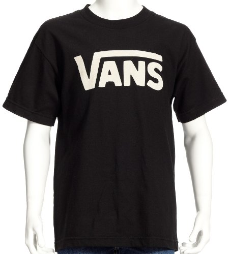 Vans Jungen Classic Boys T-Shirt, Schwarz (BLACK-WHITE Y28), M