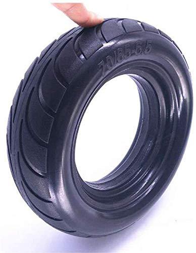 Scooter eléctrico de Neumáticos, 70-65-6.5 neumáticos a prueba de explosiones sólido, alta elasticidad, de poco ruido, conveniente for 9 equilibrio del coche 10x3.00-6.5 Neumático resistente al desgas