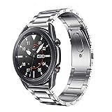 FOUUA Bracciale in acciaio inossidabile per orologio, cinturini per orologio in metallo con cinturino 18/19/20/22 / 24mm con sgancio rapido, adatto per donne e uomini