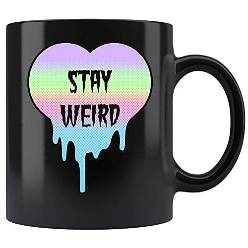 N\A Camisas góticas en Colores Pastel, Taza de té de cerámica extraña de la Taza de café de la Estancia
