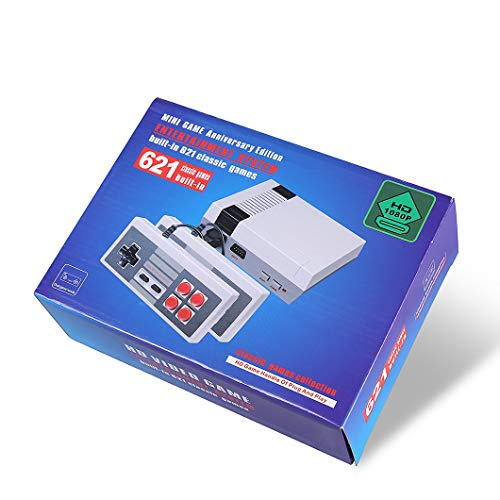 Family Game classic Mini Consola - con 621 Videojuego de TV Salida HDMI