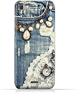 Infinix Zero 3 X552 TPU Silicone Protective Case with Modern Jeans Pattern