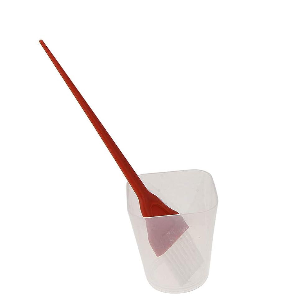 下向き受信機P Prettyia ヘアカラー ヘアコーム ミキシングボウル 理髪サロン DIY 2色選べ - 白