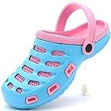 Women's Clogs Garden Two-Tone Slip-On Lightweight Slippers Casual...