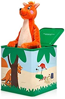 Musical Hop Out Mizzie, Baby Shower, Baby Toy, Mizzie The Kangaroo Official, Musical Box, Jack in The Box, Hop Out Kangaro...