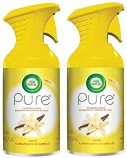 Air Wick Aerosol Pure Vainilla 250ml.Pack de 2