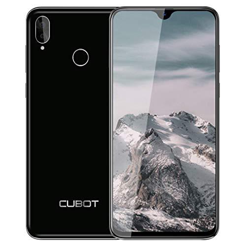Teléfono Móviles, CUBOT R15 Pro Smartphone Libres, Pantalla Completa de 6.26 Pulgadas, 3GB RAM +32GB ROM,Android 9.0, Cámara 16MP+13MP, 4G Dual SIM,Móvil Libre 128GB TF Ampliable, Tipo C-Negro