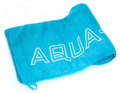AQUA-SPEED Dry Soft   Dry Flat   Dry Coral microfibra toalla Viaje Toalla de mano de deporte Fitness (extra absorbente antibacteriano, antialérgico) Dry Flat L.Blue 70 x140 cm