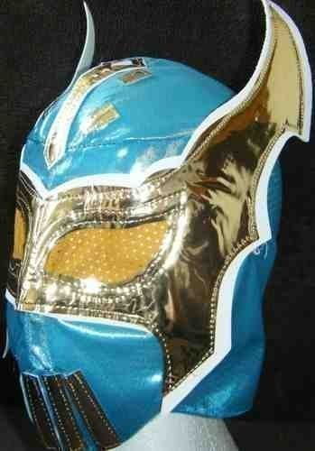 BLUE CHILDRENS SIN CARA MASK by SOPHZZZZ TOY SHOP