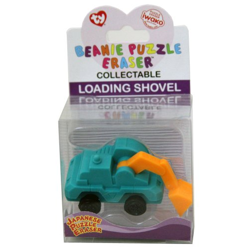 TY Iwako Puzzle Eraserz - Chargement de camion Pelle