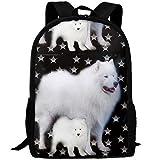 Casual Stars Dog Sammies Zaino per laptop Borsa da scuola Borsa a tracolla Borsa da viaggio Daypack