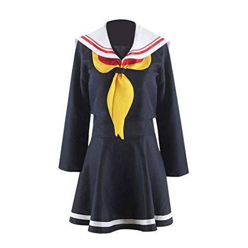 No Game No Life Disfraz de Cosplay, Sora Shiro Mujeres Nias Traje de marinero Disfraz de Halloween Zero Shuvi Schwarzer Cos Monos Traje de uniforme de Stephanie Dola