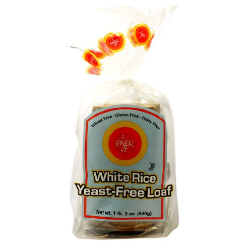 Ener-G Foods Yeast-Free White Rice Loaf, 19-Ounce Units (Pack of 6)