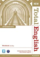 New Total English Intermediate Workbook with Answer Key and Audio CD