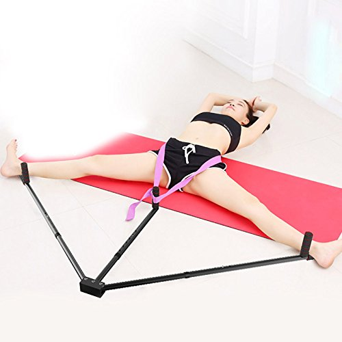 PerGrate Protective Rate Iron Leg Stretcher 3 Bar Leg Extension Split Ballet Balance Machine Flexibility Training Tool