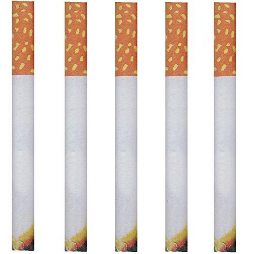 5 x qualmende Zigarette Nichtraucher Scherzzigaretten Scherzartikel Qualmende Zigaretten