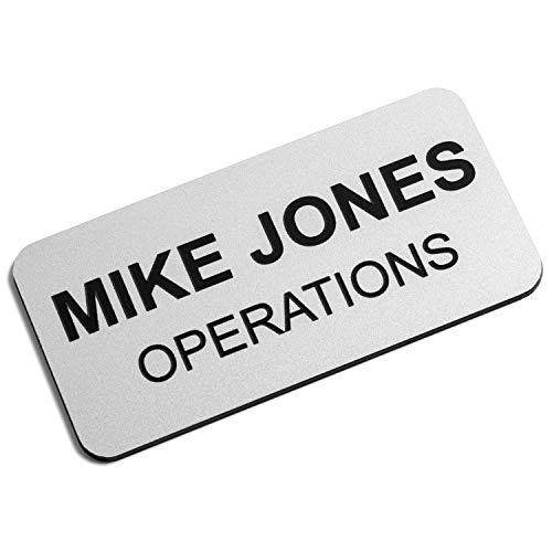 Custom Engraved Name Tag Badges