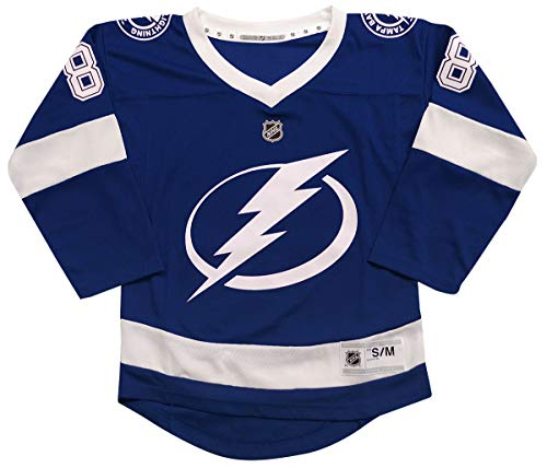 Outerstuff Tampa Bay Lightning Andrei Vasilevskiy Youth NHL Replica Jersey (Youth Small/Medium)