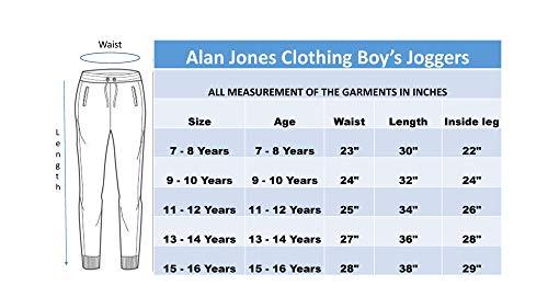 Alan Jones Clothing Printed Boys Joggers Track Pant 6 41cR sk7UwL. SL500