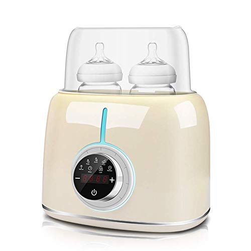 Daufri Bottle Warmer for Baby Milk, Bottle Warmer for Breastmilk,Real-time LCD Display Accurate Temperature Control,Auto Power-Off