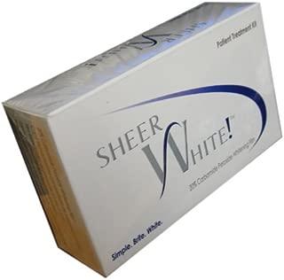 Sheer White Teeth Whitening Strips
