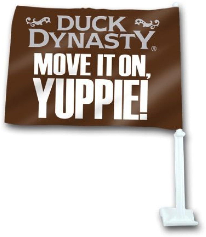 salida de fábrica Duck Dynasty MOVE MOVE MOVE IT ON YUPPIE  Coche Flag by DUCK DYNASTY  tienda en linea