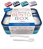 Bento-Box Lunch Boxes for Kids, Boys, Adults. Leakproof Lunch Set, Bentoboxes for School or Work....