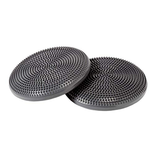 Best Buy! Primasole 【Amazon.com Limited Brand】 Balance Disk (Cool Grey Color) 2 Pieces Comes wit...