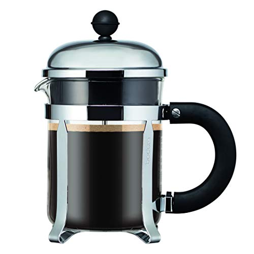 Bodum - 11733-16 - Chambord - Cafetera 4 tazas - mango Santoprene - 0,5 l