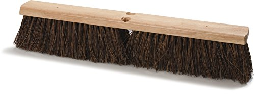"Carlisle 3621913600 Hardwood Block Garage Sweep, 36"" Block Size, 4"" Bristle Trim"