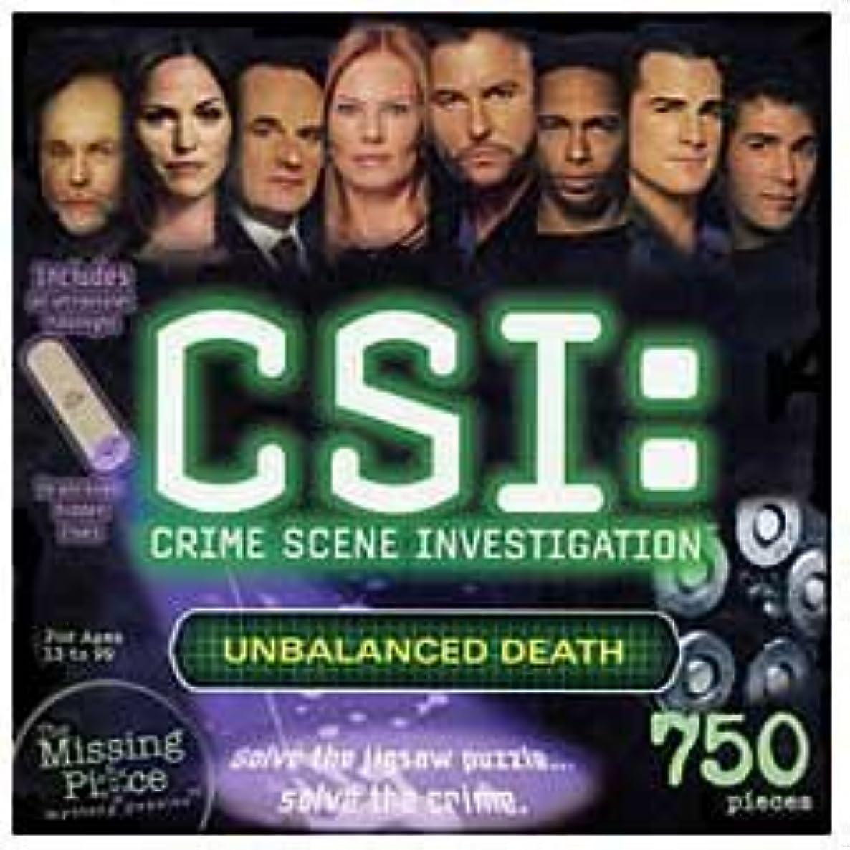 CSI: Crime Scene Investigation, 750 Piece Mystery Puzzle, Unbalanced Death