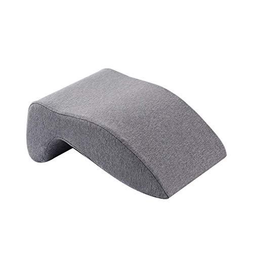 XUSHEN-HU Almohada de apoyo para el cuello de la memoria Mianwu almohada del sueño de la silla de la espalda almohada multifuncional oficina estudiante almuerzo descanso /33X24X14CM