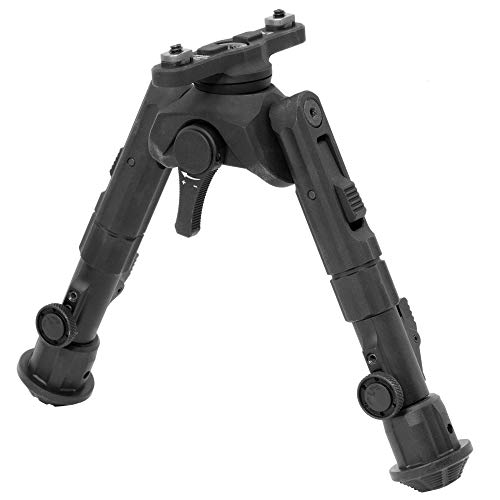 UTG Recon 360 TL Bipod, 5.5'-7.0' Center Height, M-LOK, Black