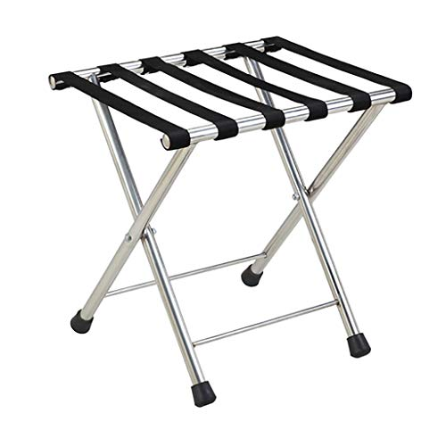 Fantastic Prices! Folding Luggage Rack Folding Luggage Rack Professional Hotel Suitcase Holder Trave...