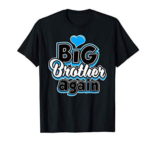 Gran hermano nuevo bebé ascendido a hermano mayor 2020 Camiseta