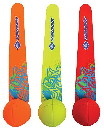 Schildkröt Neopren Diving Balls, 3 Tauchbälle mit Schweif, Sandfüllung, Schweif steht am Grund, 970231