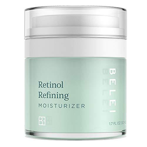 Belei by Amazon: Retinol Vitamin A Refining Moisturizer, Fragrance Free, Paraben Free, 1.7 Fluid Ounce (50 mL)