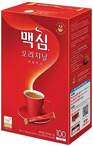 Maxim Max 65% OFF Original Coffee Mix 오리지날NEW 맥심