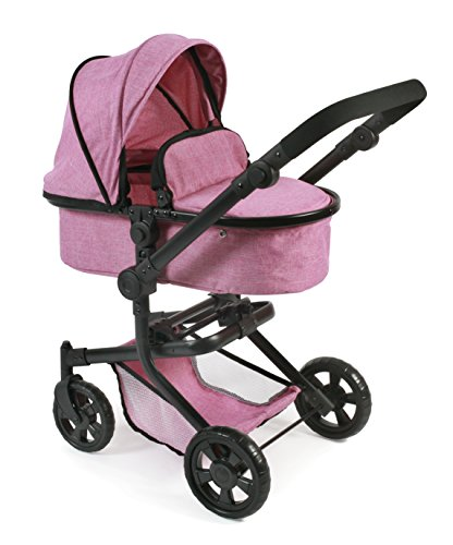Bayer Chic 2000 - Puppenwagen in Pink