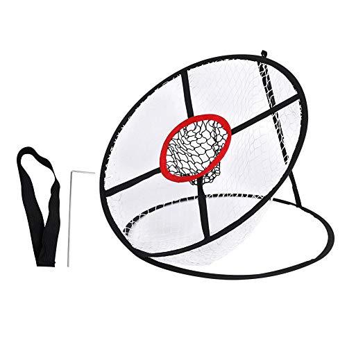 VGEBY1 Golf Chipping Netz, zweilagiges Pop Up Übungsnetz Golfübungsgeräte Schlagnetze für Indoor-Outdoor-Golf
