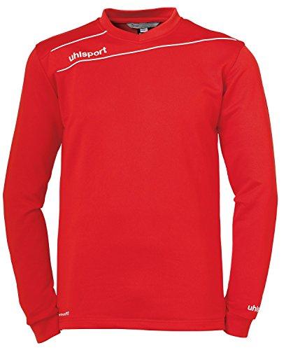 uhlsport Bekleidung Stream 3.0 Training Top Herren Sweatshirt, rot/Weiß, S