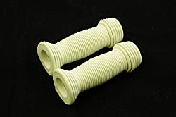 YOU ARE BUYING ONE PAIR JUNIOR GRIPS FOR JUNIOR KIDDIES BIKES OR TRIKES THE GRIPS HAVE A SOFT FINISH SO VERY COMFORTABLE FOR CHILDS HANDS THESE HAVE A FLANGE TO STOP HANDS SLIPPING OFF OVERALL LENGTH 90mm