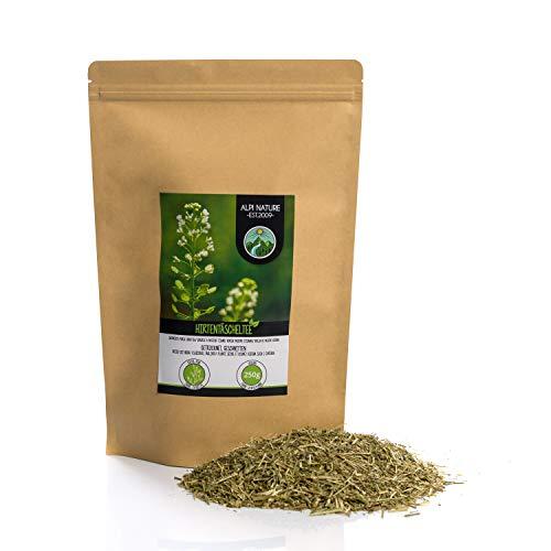 Infusion de bolso de pastor (250g), cortada, suavemente secada, 100% natural, para la preparacion infusiones de hierbas