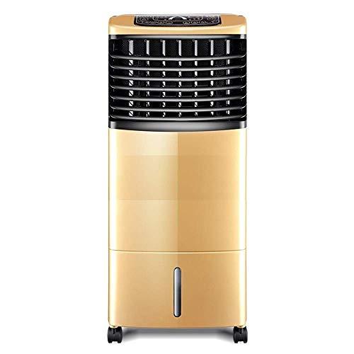 QTCD Fans Máquina de refrigeración para el hogar con Aire Acondicionado, Control Remoto, Doble Uso, silenciosa