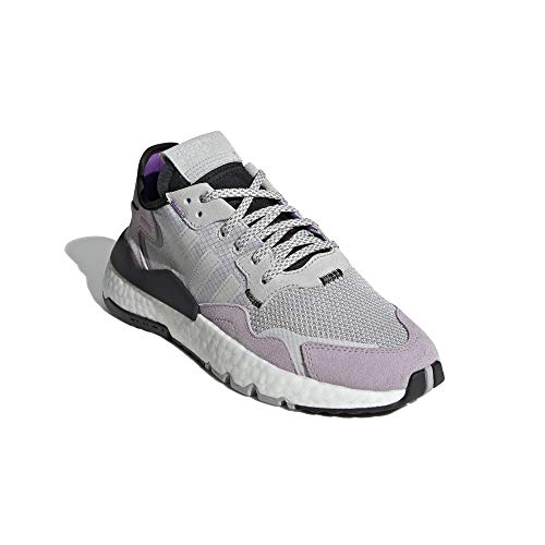 adidas Mujer Nite Jogger W Zapatillas Gris, 37 1/3