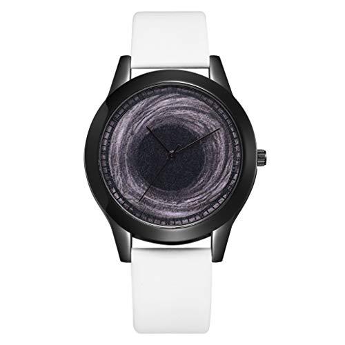 Fantastic Deal! LUCAMORE Women Luxury Quartz Watches Unique Cool Watch Universe Dark Blue Star/Black...