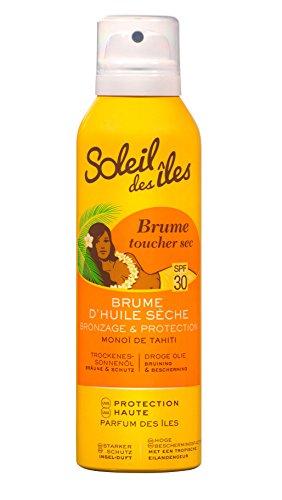 Soleil Des Îles Brume huile sèche bronzante IP30 - Le flacon de 150ml