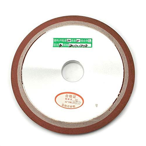 NIDUNO Rueda de Disco 1pc 180x10x32x8mm PDX cónicos Llanura Diamante de la Resina de molienda for moler carburo del Acero Duro de Grano 150 75%