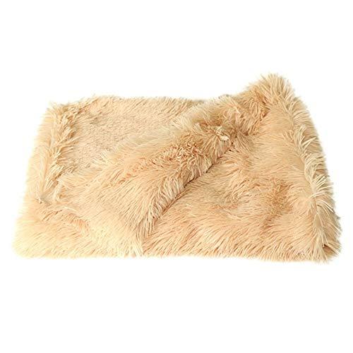 GDYX Dog Mat Fluffy Plush Pet Pet Cover Dog Cat Mattress Summer and Winter Bed with Deep Sleep Soft Pad MA